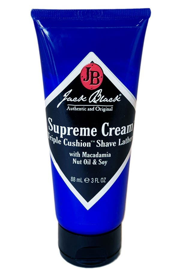 'Supreme Cream<sup>™</sup>' Triple Cushion<sup>™</sup> Shave Lather,                         Main,                         color,