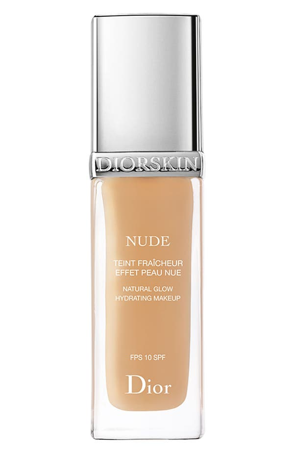 Alternate Image 1 Selected - Dior 'Diorskin Nude' Natural Glow Hydrating Makeup SPF 10