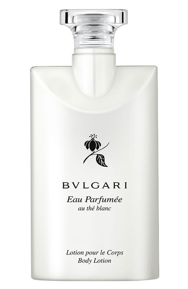 Alternate Image 1 Selected - BVLGARI 'Eau Parfumée au thé blanc' Body Lotion