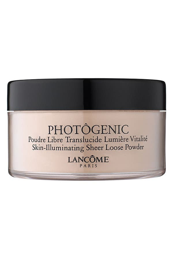 Alternate Image 1 Selected - Lancôme 'Photôgenic' Sheer Loose Powder