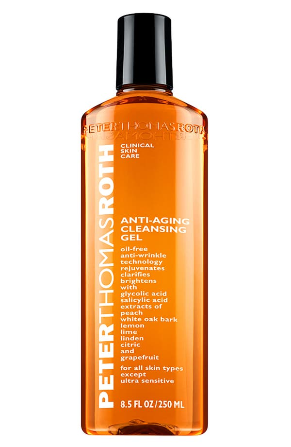 Anti-Aging Cleansing Gel,                         Main,                         color, No Color