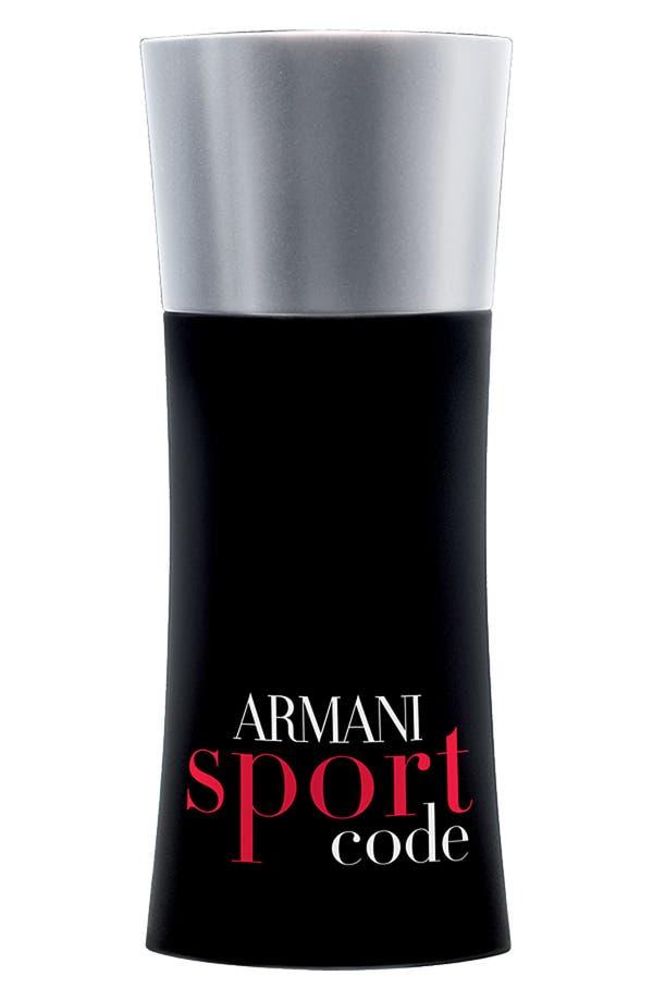 Alternate Image 1 Selected - Armani Code Sport Eau de Toilette Spray