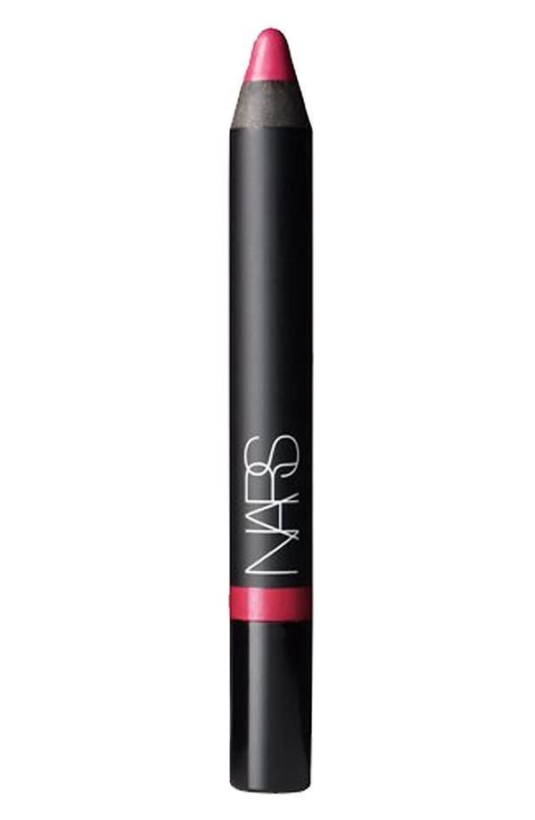 Velvet Gloss Lip Pencil,                             Main thumbnail 1, color,                             Mexican Rose