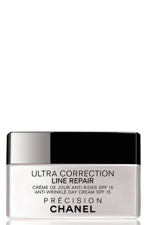 Alternate Image 1 Selected - CHANEL ULTRA CORRECTION LINE REPAIR  Anti-Wrinkle Sunscreen Day Cream Broad Spectrum SPF 15