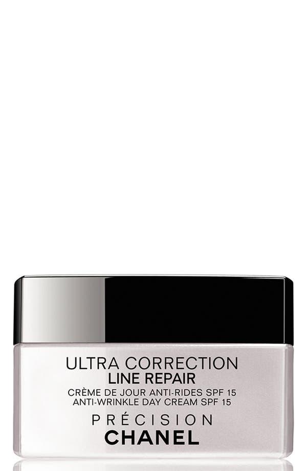 Main Image - CHANEL ULTRA CORRECTION LINE REPAIR  Anti-Wrinkle Sunscreen Day Cream Broad Spectrum SPF 15