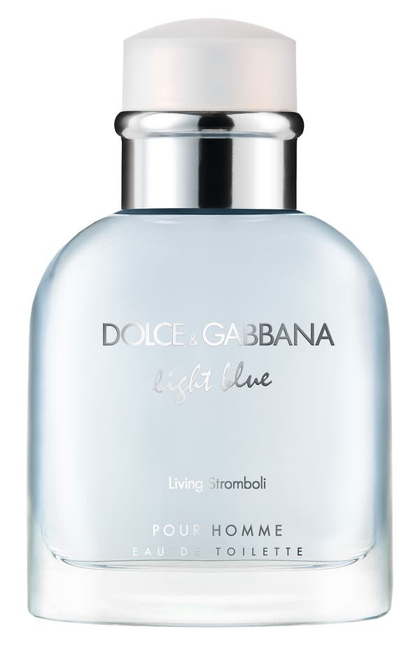 Alternate Image 1 Selected - Dolce&Gabbana Beauty 'Light Blue pour Homme - Living Stromboli' Eau de Toilette