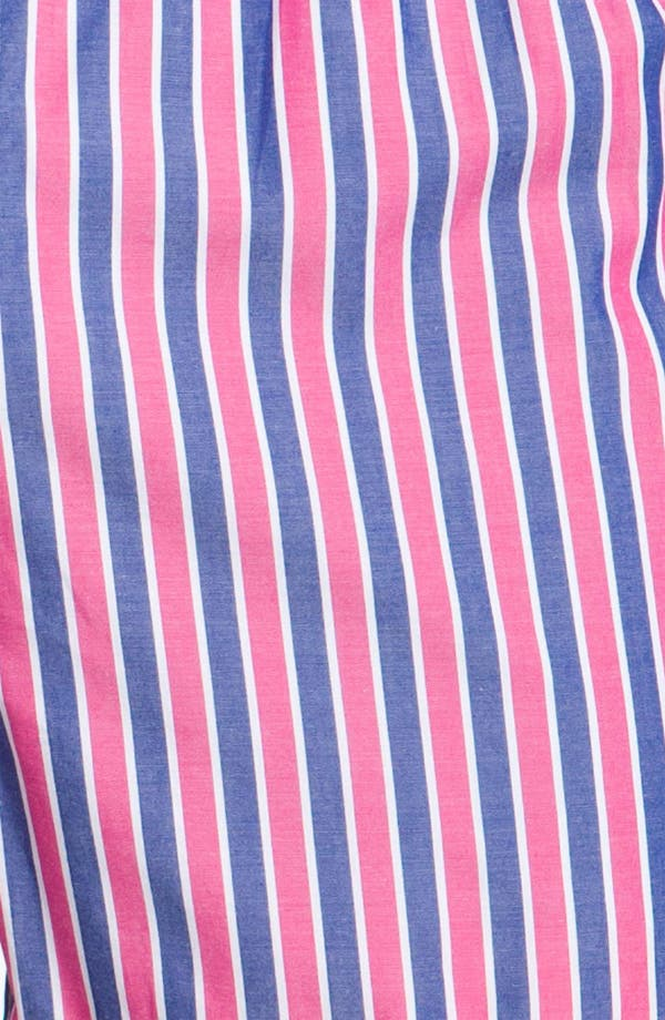Alternate Image 2  - Brooks Brothers Bar Stripe Boxers