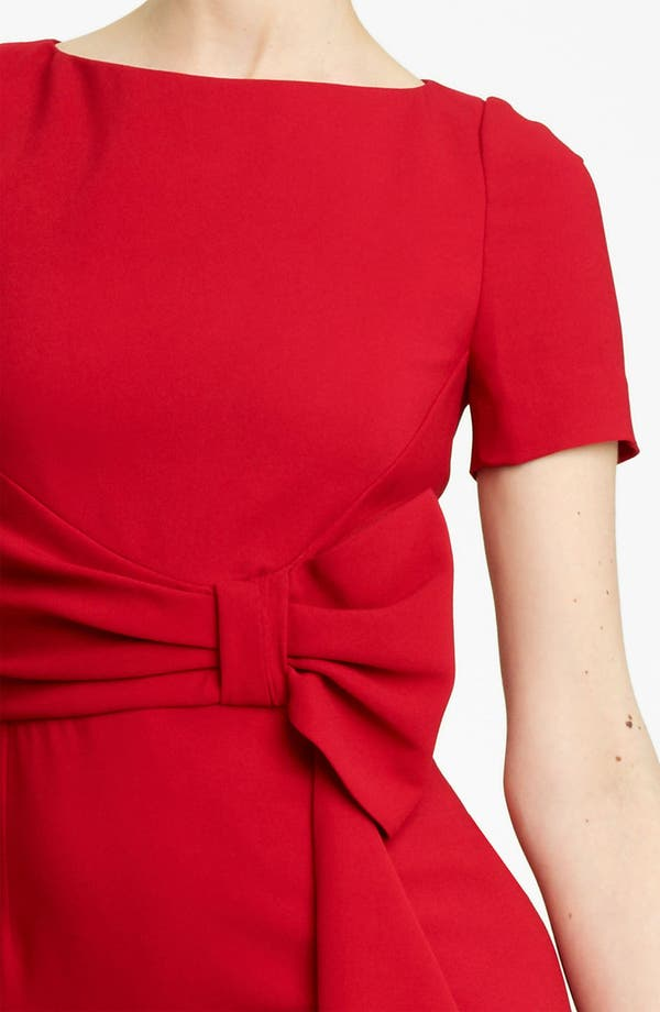 Alternate Image 3  - Valentino Side Drape Stretch Cady Dress