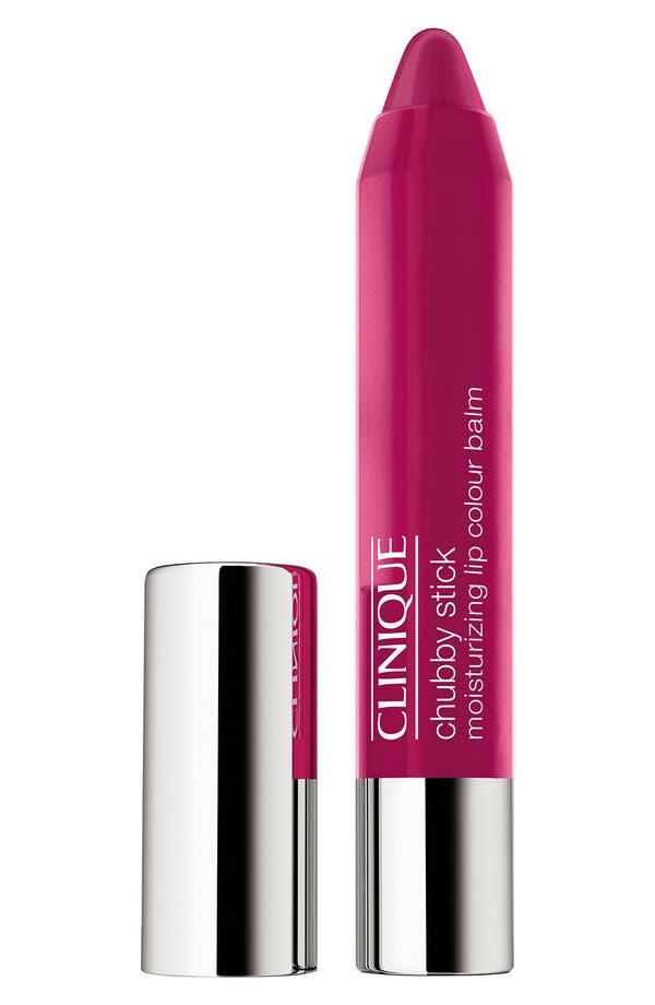Chubby Stick Moisturizing Lip Color Balm,                             Main thumbnail 1, color,                             Pudgy Peony