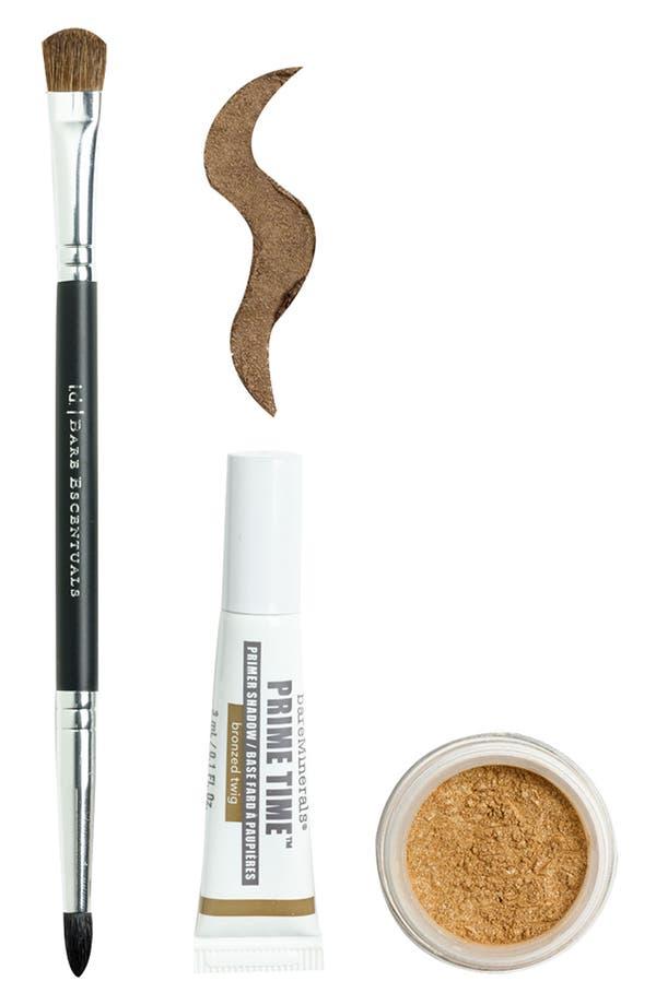 Main Image - bareMinerals® 'Prime Time' Primer Shadow Kit Bronzed Twig ($60 Value)