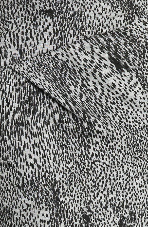Alternate Image 3  - Max Mara 'Vertigo' Print Jersey Skirt