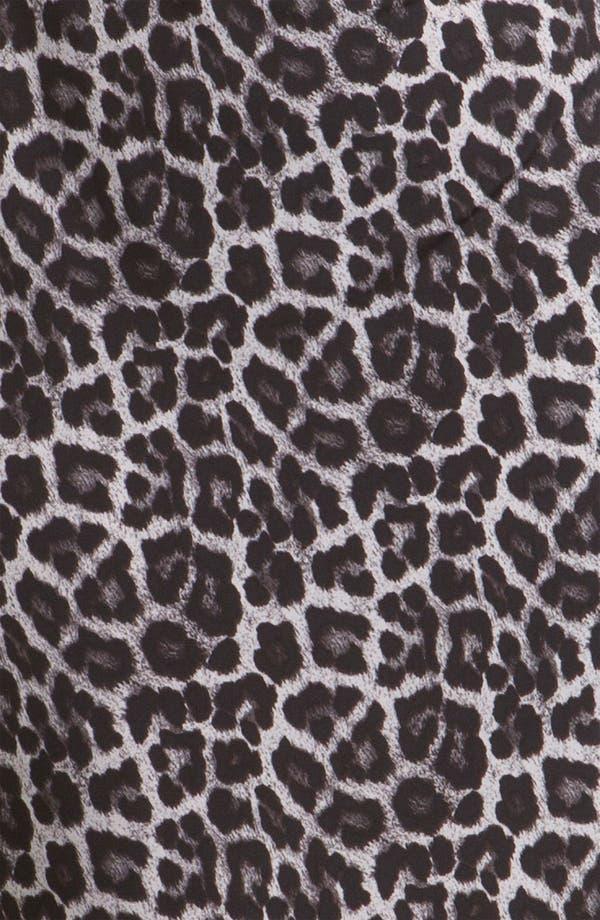 Alternate Image 3  - MICHAEL Michael Kors Print Cowl Neck Shift Dress (Plus)