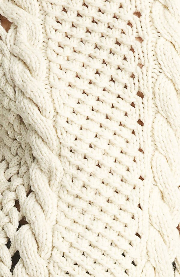 Alternate Image 4  - Yigal Azrouël Duo Knit Sweater