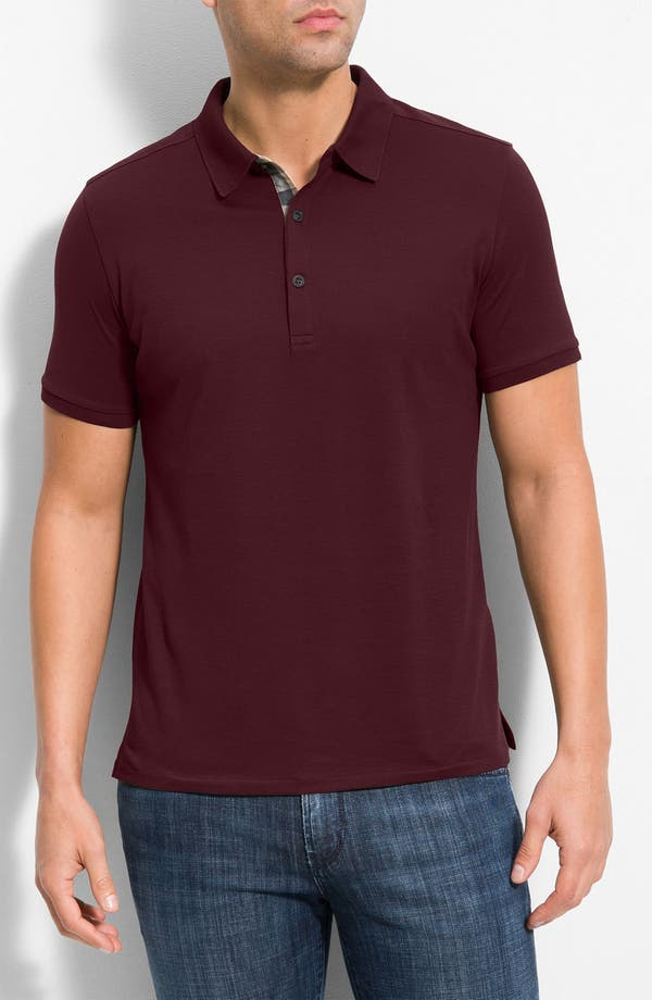 Alternate Image 1 Selected - Burberry Brit Modern Fit Pima Cotton Polo