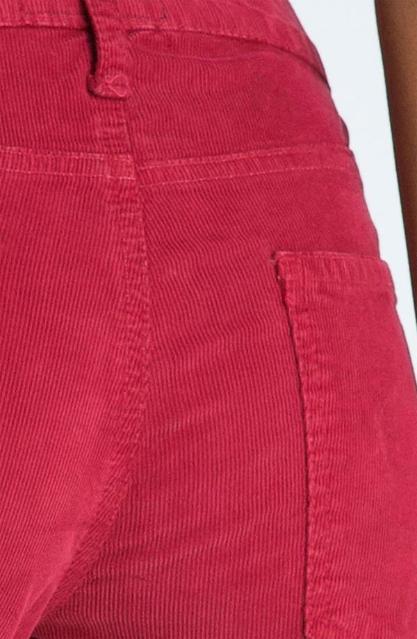 Alternate Image 3  - Current/Elliott 'The Skinny' Stretch Jeans (Vintage Crimson)