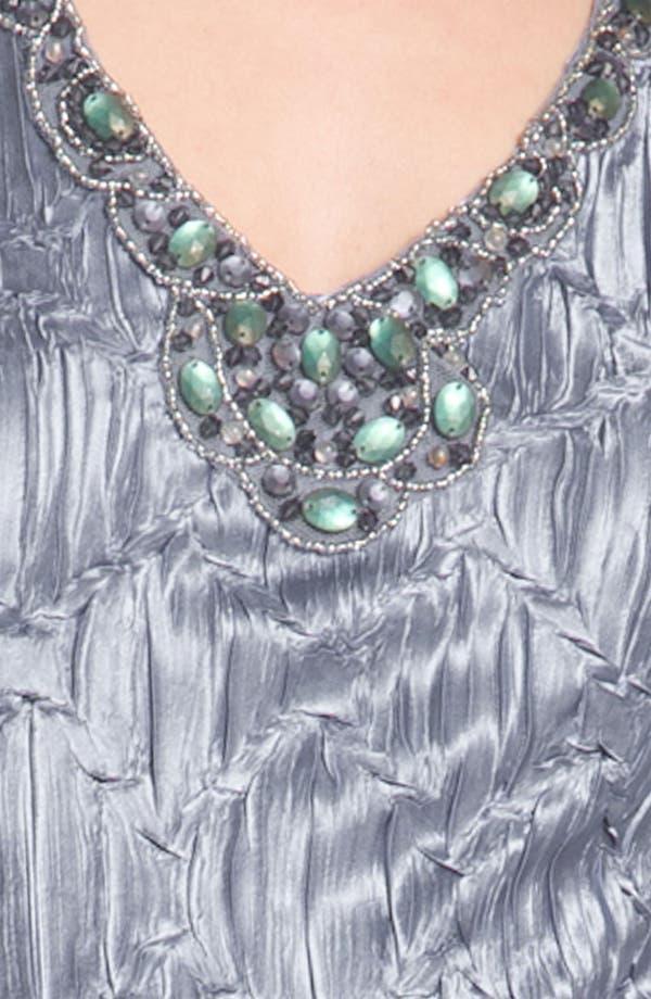Alternate Image 4  - Komarov Split Hem Charmeuse Dress & Jacket