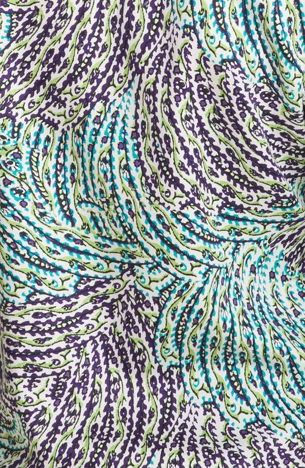 Alternate Image 3  - Foxcroft Garden Print Shirt