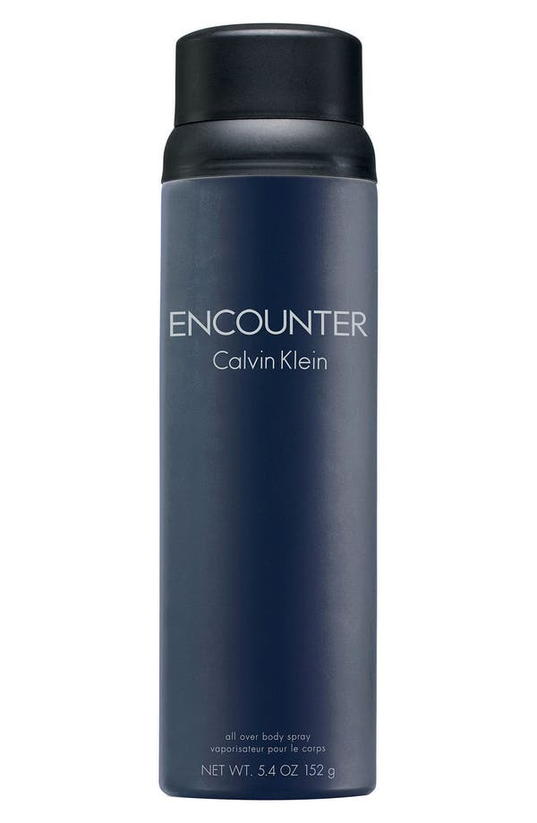 calvin klein encounter body spray