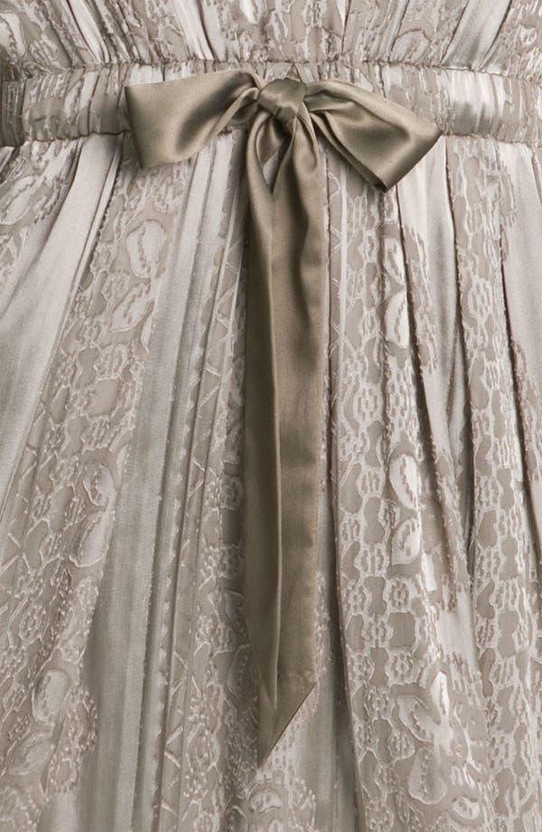 Alternate Image 3  - Jessica Simpson V-Neck Burnout Satin Dress