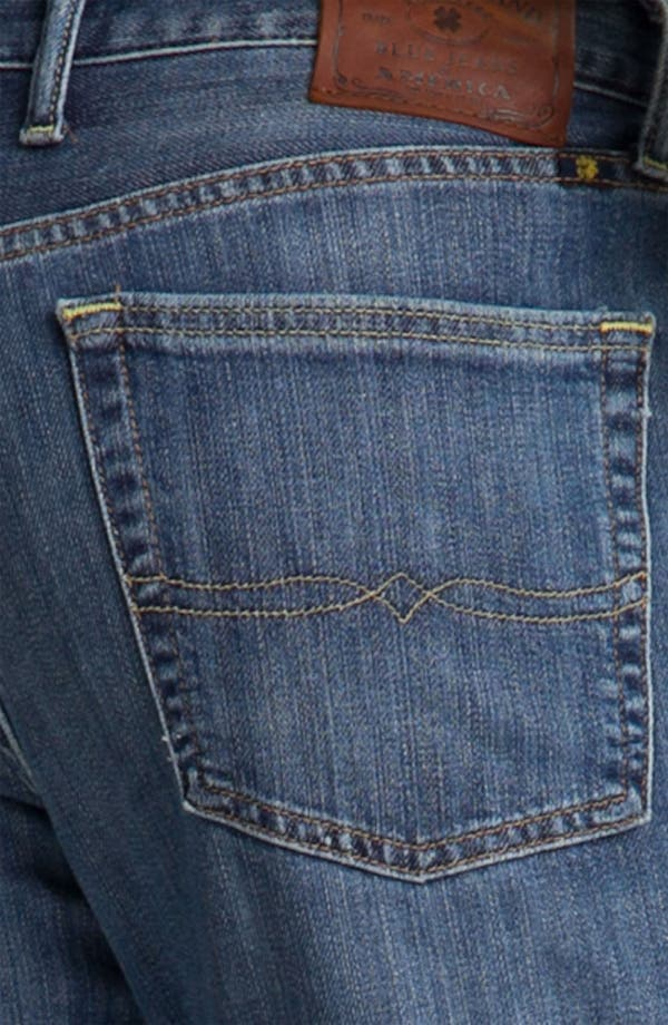 Alternate Image 4  - Lucky Brand '367 Vintage' Bootcut Jeans (Nugget)