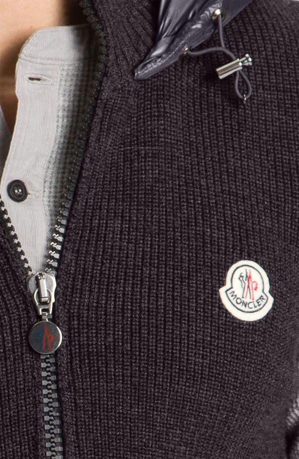 Alternate Image 3  - Moncler Knit & Quilted Hooded Vest