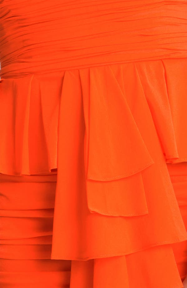 Alternate Image 3  - Jill Stuart Strapless Ruched Silk Chiffon Dress