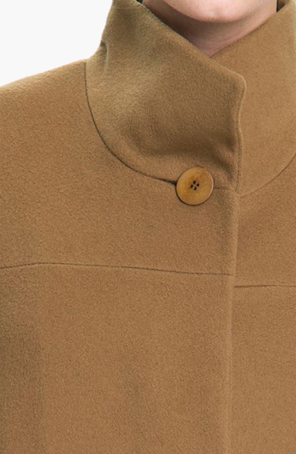 Alternate Image 3  - Fleurette Stand Collar Coat