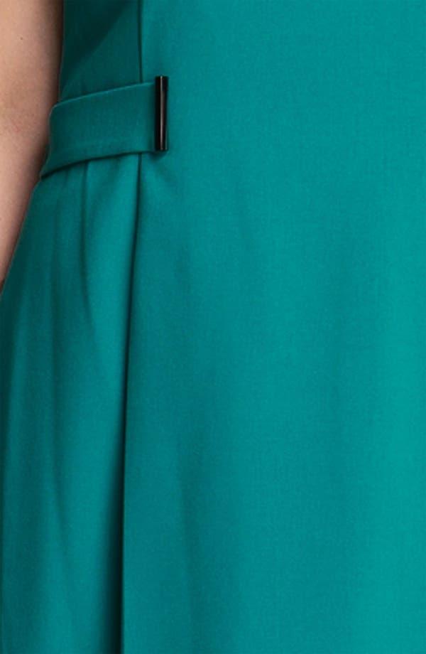 Alternate Image 3  - Calvin Klein Side Tab Sleeveless Dress (Plus)