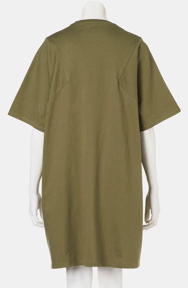 Alternate Image 2  - Topshop Boutique Geo Seam T-Shirt Dress
