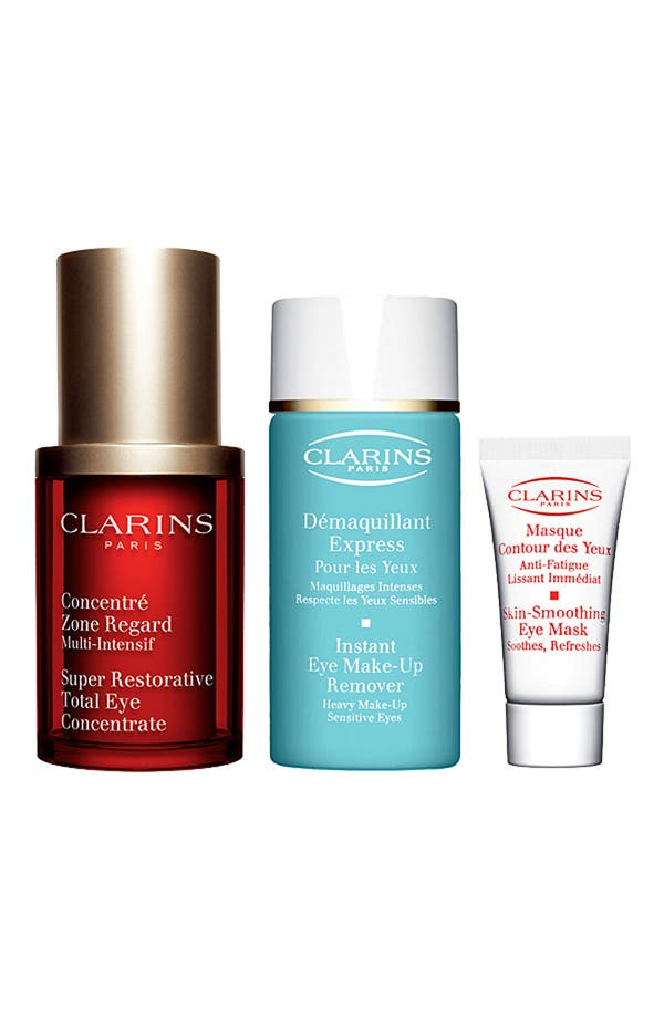 Alternate Image 1 Selected - Clarins 'Restoring Eye Wonders' Set ($92 Value)
