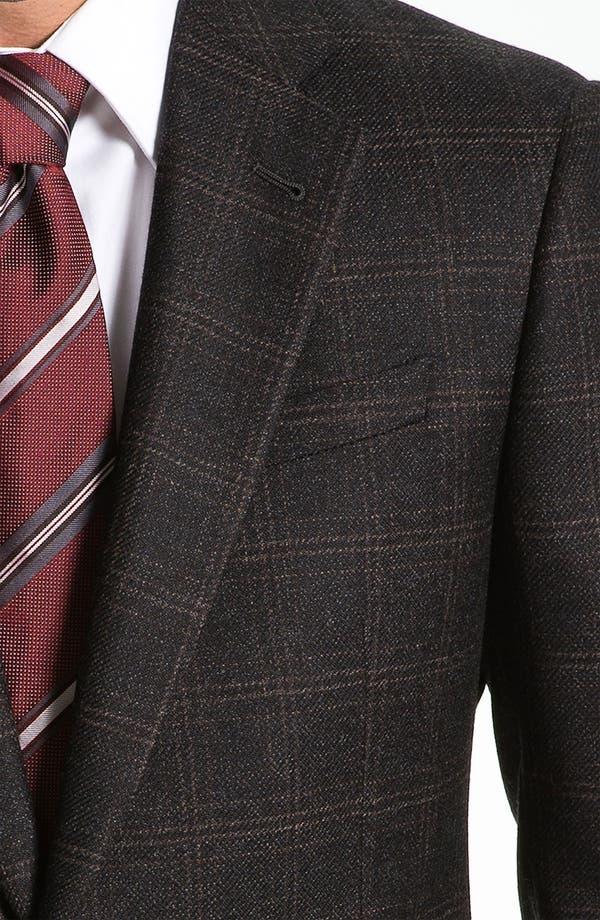 Alternate Image 3  - Armani Collezioni 'Giorgio' Trim Fit Plaid Sportcoat
