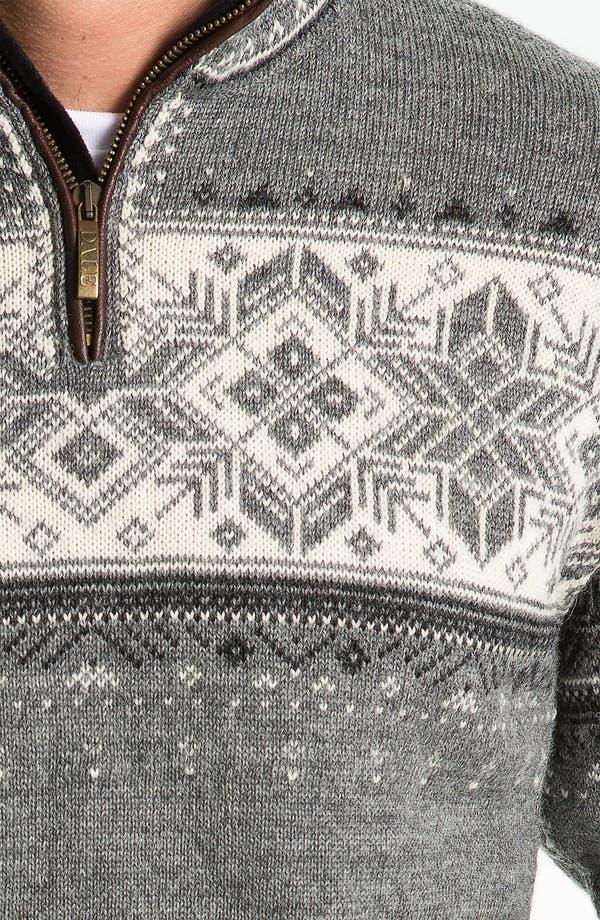 Alternate Image 3  - Dale of Norway 'Blyfjell' Quarter Zip Wool Sweater