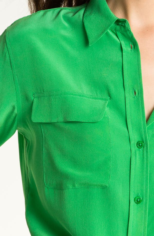 Alternate Image 3  - Equipment 'Signature' Silk Shirt