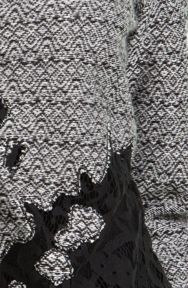 Alternate Image 3  - Nic + Zoe Lace Trim Sweater Jacket