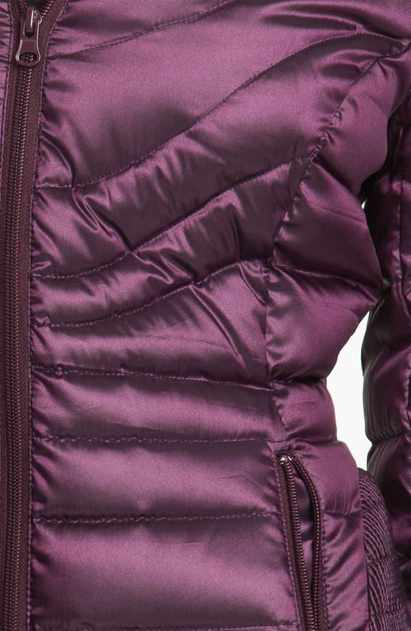 Alternate Image 3  - Bernardo Hooded Iridescent Down Jacket
