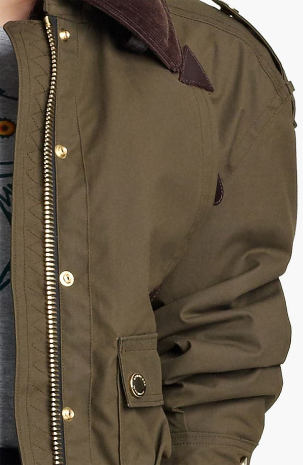 Alternate Image 3  - Burberry Prorsum Waxed Cotton Jacket