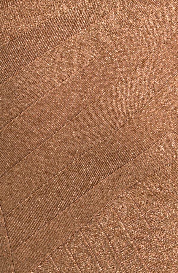 Alternate Image 3  - JS Collections Asymmetrical Metallic Bandage Dress