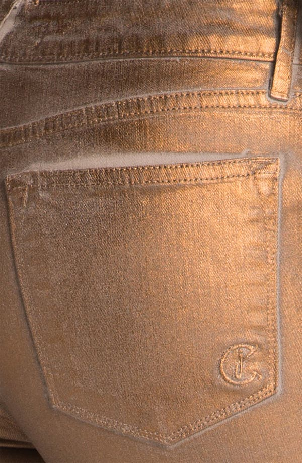 Alternate Image 3  - CJ by Cookie Johnson 'Joy' Stretch Skinny Jeans (Champagne Dust)