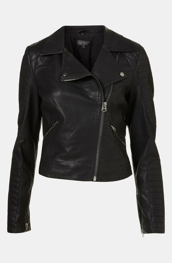 Alternate Image 3  - Topshop 'Maddox' Faux Leather Jacket