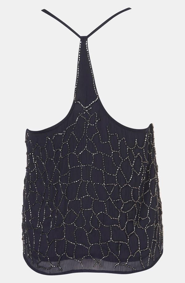Alternate Image 2  - Topshop 'Web' Embellished Camisole