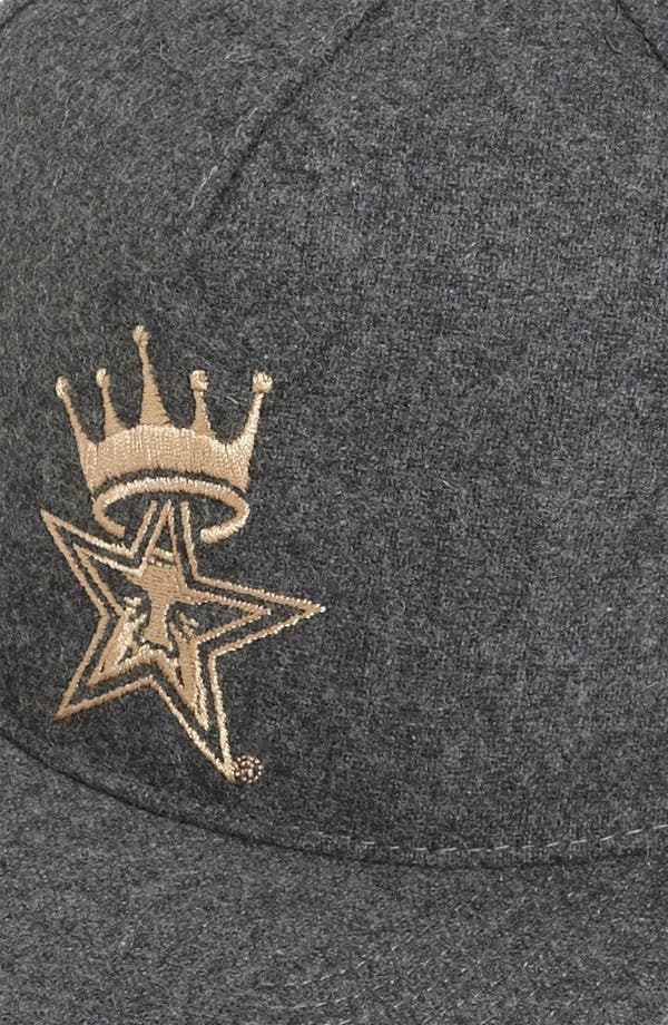 Alternate Image 2  - Obey 'Crowned' Snapback Baseball Cap