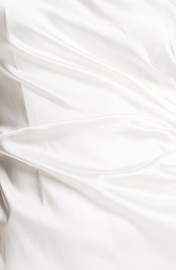 Alternate Image 3  - Calvin Klein One Shoulder Satin Sheath Dress