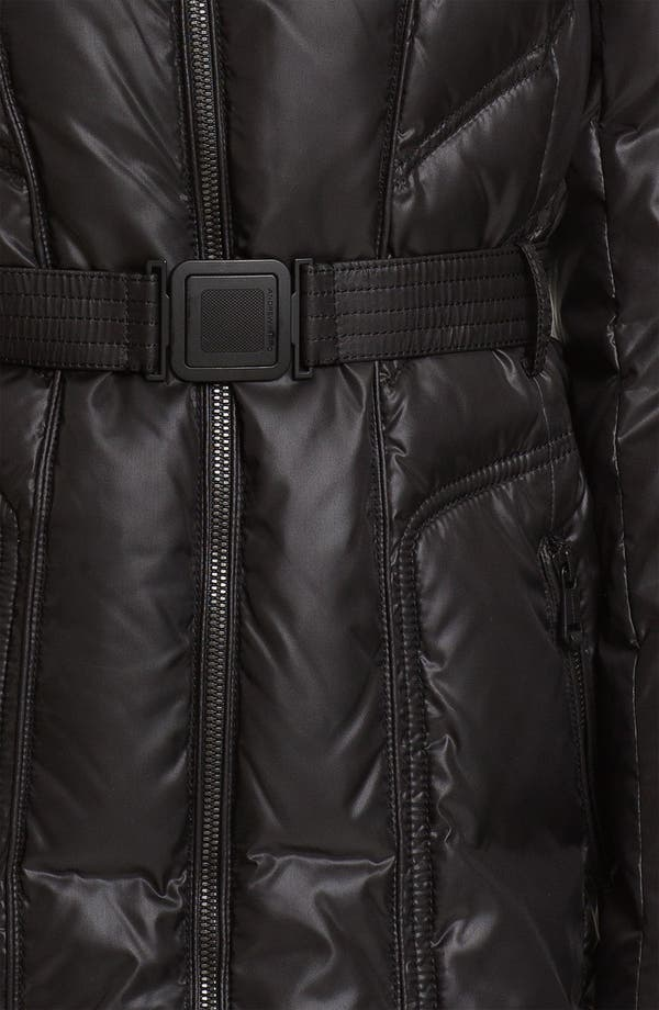 Alternate Image 3  - Andrew Marc Down Coat with Genuine Coyote Fur
