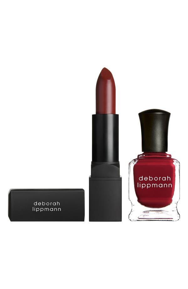 Alternate Image 1 Selected - Deborah Lippmann 'Love Notes' Lip & Nail Duet