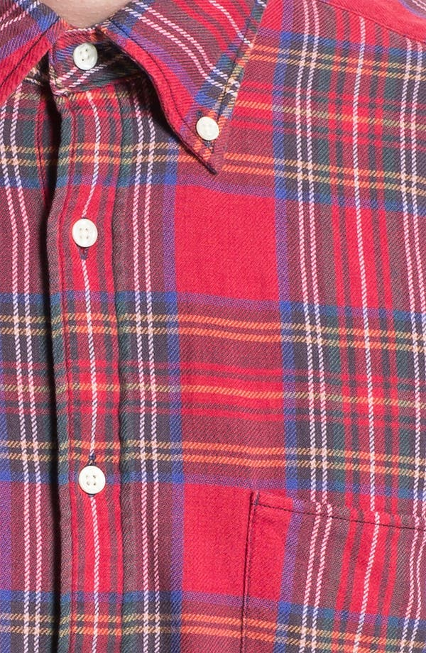 Alternate Image 3  - Gant Rugger 'Tinkering' Twill Plaid Shirt