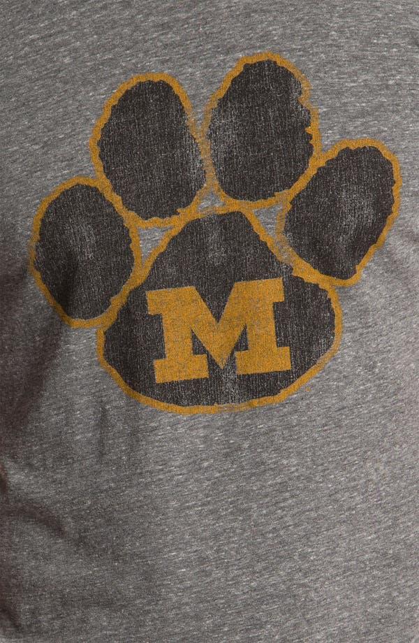 Alternate Image 3  - The Original Retro Brand 'Missouri Tigers - Stitch' T-Shirt