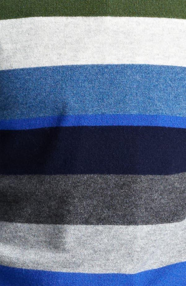 Alternate Image 3  - Jack Spade 'Page' Stripe Wool & Cashmere Sweater