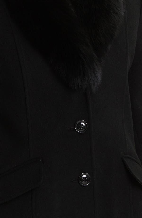 Alternate Image 3  - Sachi Genuine Fox Fur Collar Coat