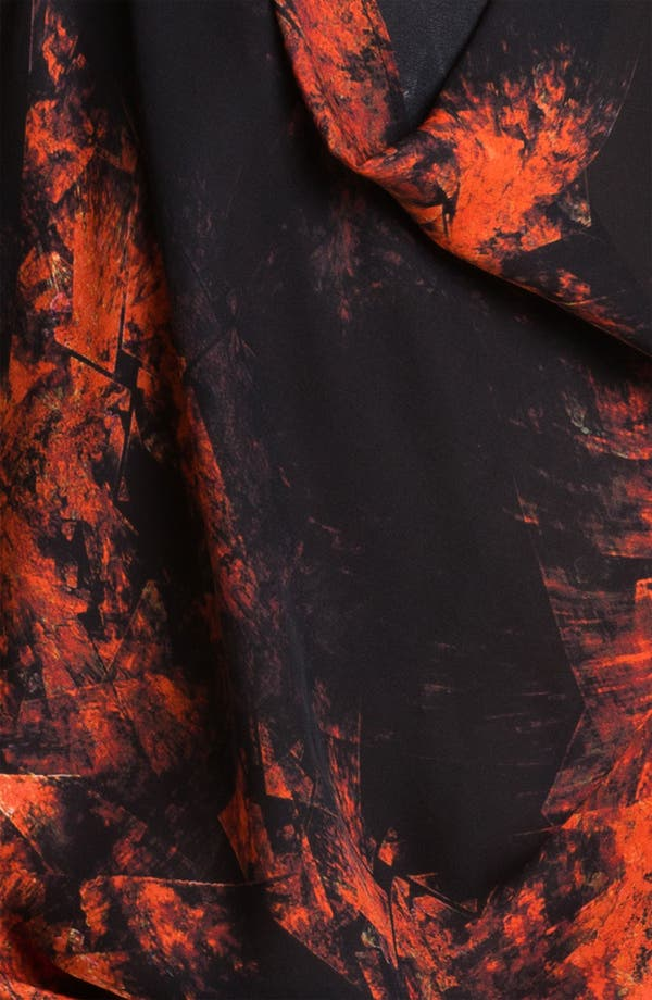 Alternate Image 3  - Haute Hippie Fire Print Silk Tank