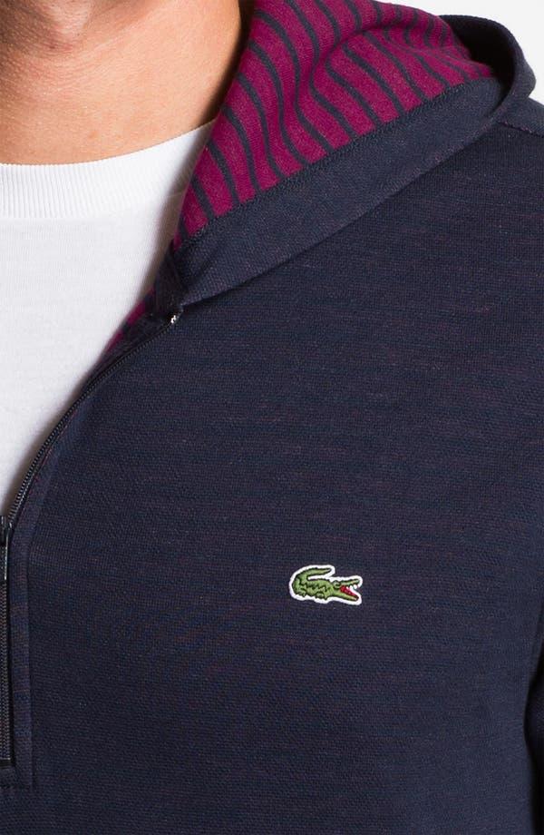 Alternate Image 3  - Lacoste Slim Fit Zip Hoodie